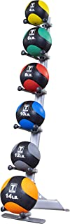 Body-Solid GMR10-PACK Medicine Ball Set w/Rack