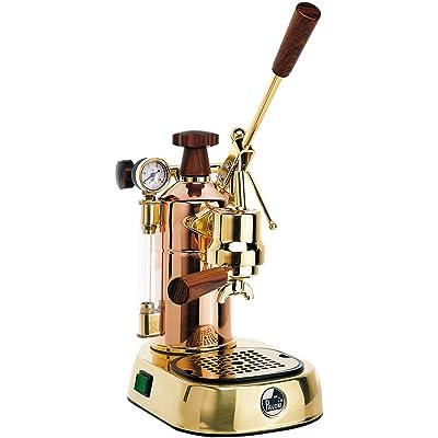 Handhebel Espresso-Siebträgermaschine La Pavoni Professional Rame Gold