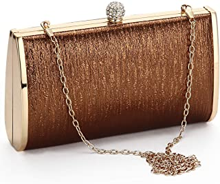 5c15bc4491 Women Evening Clutch Bags Metal Frame Evening Bag Night Purse Handbag  Wedding Prom Party Cocktail Bridal