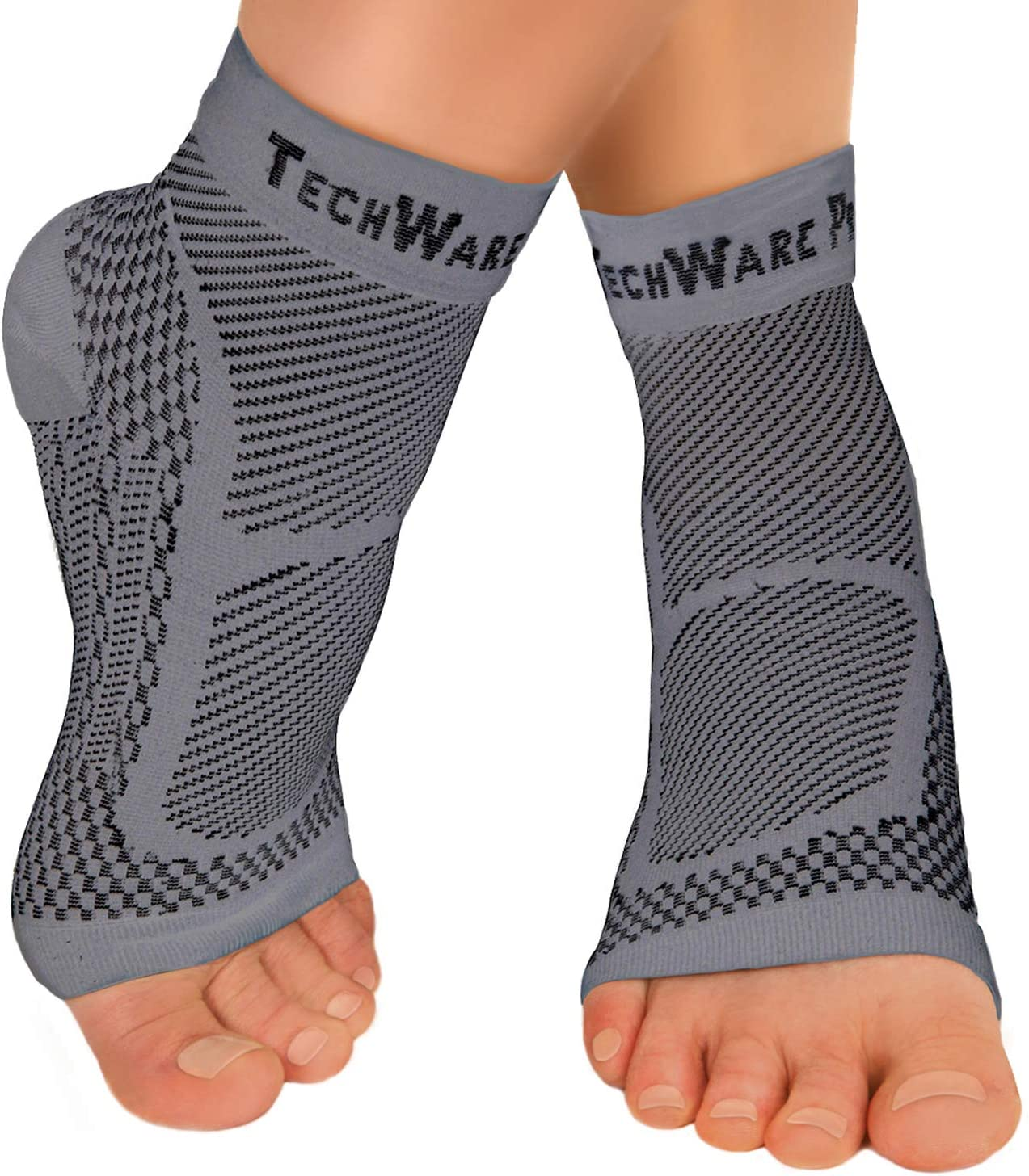 TechWare Pro Ankle Brace Minneapolis Mall Compression Sleeve Achilles Rapid rise Relieves -