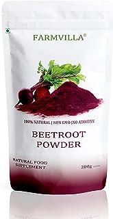 Farmvilla 100% Natural Beetroot Powder - 200 Gm