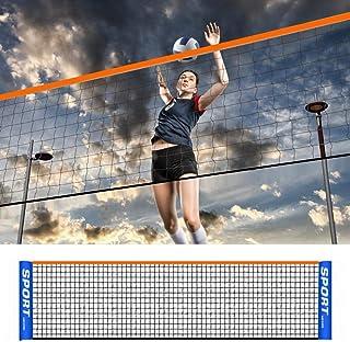 Professional Standard Tennis Net/Volleyball Net/Badminton Net,Easy Setup,Excellent Quality Badminton Net 4 Different Sizes...