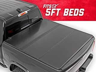 Rough Country Hard Tri-Fold (fits) 2016-2019 Tacoma 5 FT Bed Truck Tonneau Cover 45716501