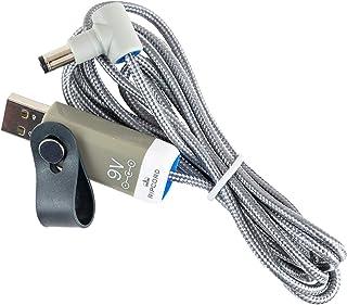MyVolts Ripcord USB 5V-9V DC電源ケーブル Korg volca Bass/Beats/Drum/FM/Keys/Kick/Modular/Mixer/Newbass/Sampleに対応 - USBからKorg Vol...