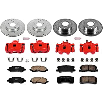 Power Stop KC6252-36 Rear Z36 Truck and Tow Brake Kit with Calipers