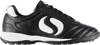 Sondico Strike Astro Turf Football Trainers Mens Black/White Soccer Shoe Sneaker (UK15) (EU50) (US16)