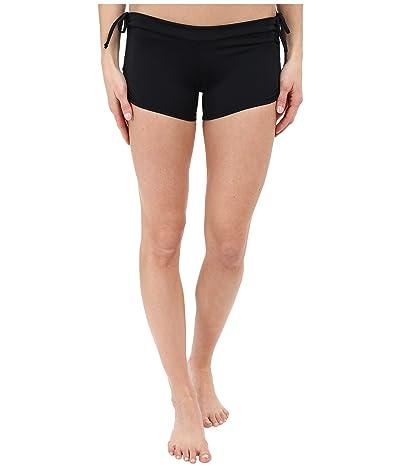 Onzie Side String Shorts (Black) Women