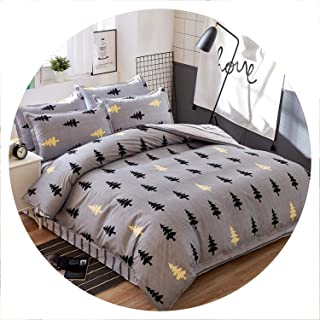 Secret-shop Birthday Present Duvet Cover Flat Bed Sheet Linen Pillowcase Bedding Sets Full King Twin Queen Size 3/ 4pcs,F20,Queen cover180by220