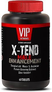 Male Enchantment Pills Increase Size - X-TEND Male Enhancement with Tongkat Ali, Maca, L-Arginine, Muira Puama, Tribulus, Panas Ginseng - 1 Bottle 60 Tablets