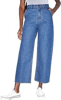 Women's Crop Wide Leg Jean