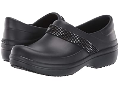 Crocs Neria Pro II Embellished Clog (Multi/Black) Women