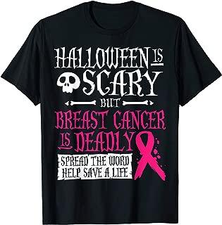 Halloween Costume Breast Cancer Awareness Shirt T-Shirt