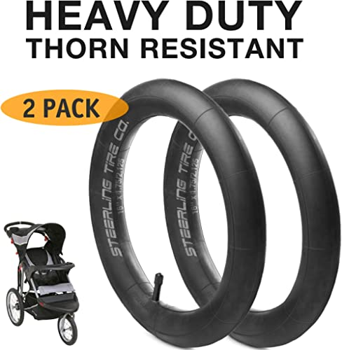"""Pair 12/"""" 16/"""" Inner Tubes for Baby Trend Expedition Series Strollers Wheels Tires"""