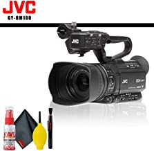 JVC GY-HM180 Ultra HD 4K Camcorder with HD-SDI + Cleaning Kit