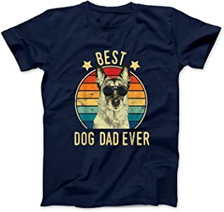 Mens Best Dog Dad Ever Belgian Malinois T-Shirt