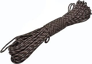 Kit de Supervivencia de Emergencia Accesorios para Hombres Mujeres 10 hebras Cuerda de cord/ón de paraca/ídas Paracord Cuerda para Tienda de campa/ña Yalatan Cuerda Paracord 550 de 4 mm