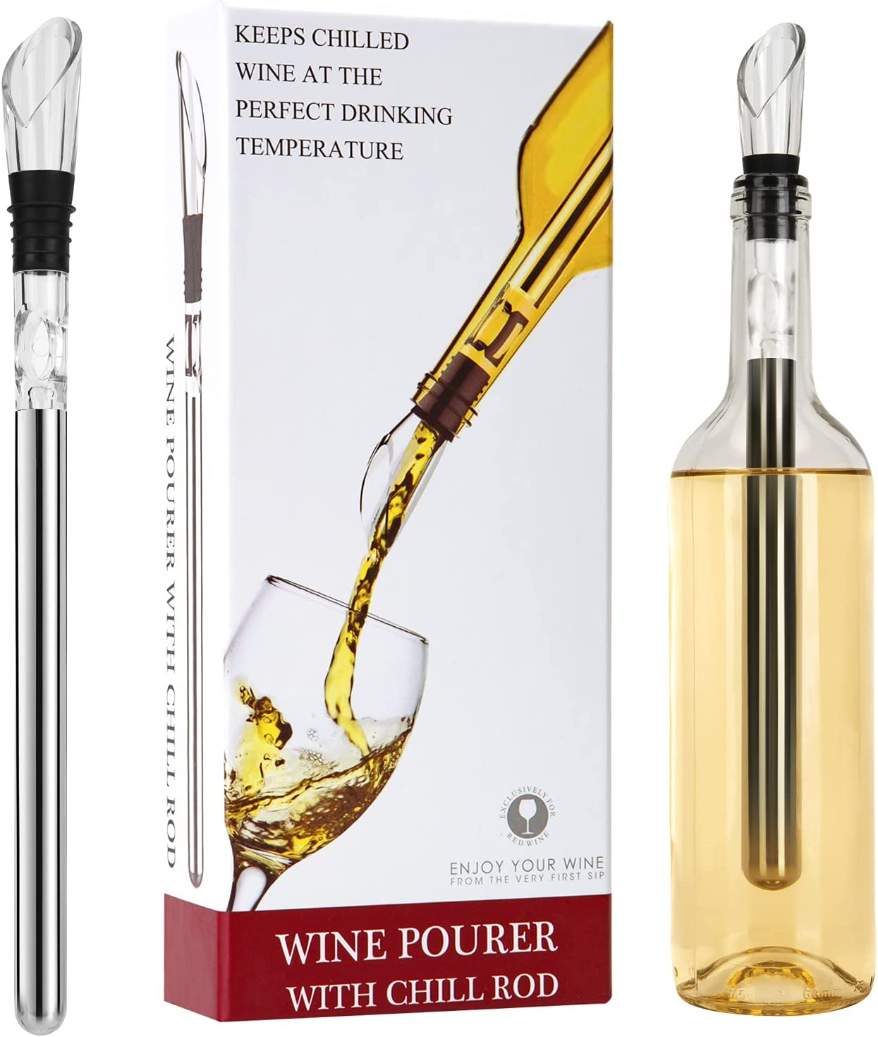 Wine free Chiller Aerator At the price of surprise Lover Decanter Gifts Ac
