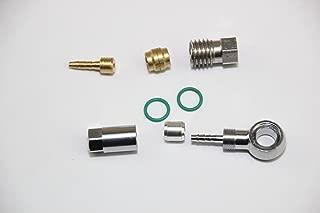 KINGSTOP JIM Bicycle Hydraulic Hose Fitting kit Hose Barbs Banjo Unit kit Hose Insert for Magura MT4 MT6 MT8 MT5 MT7