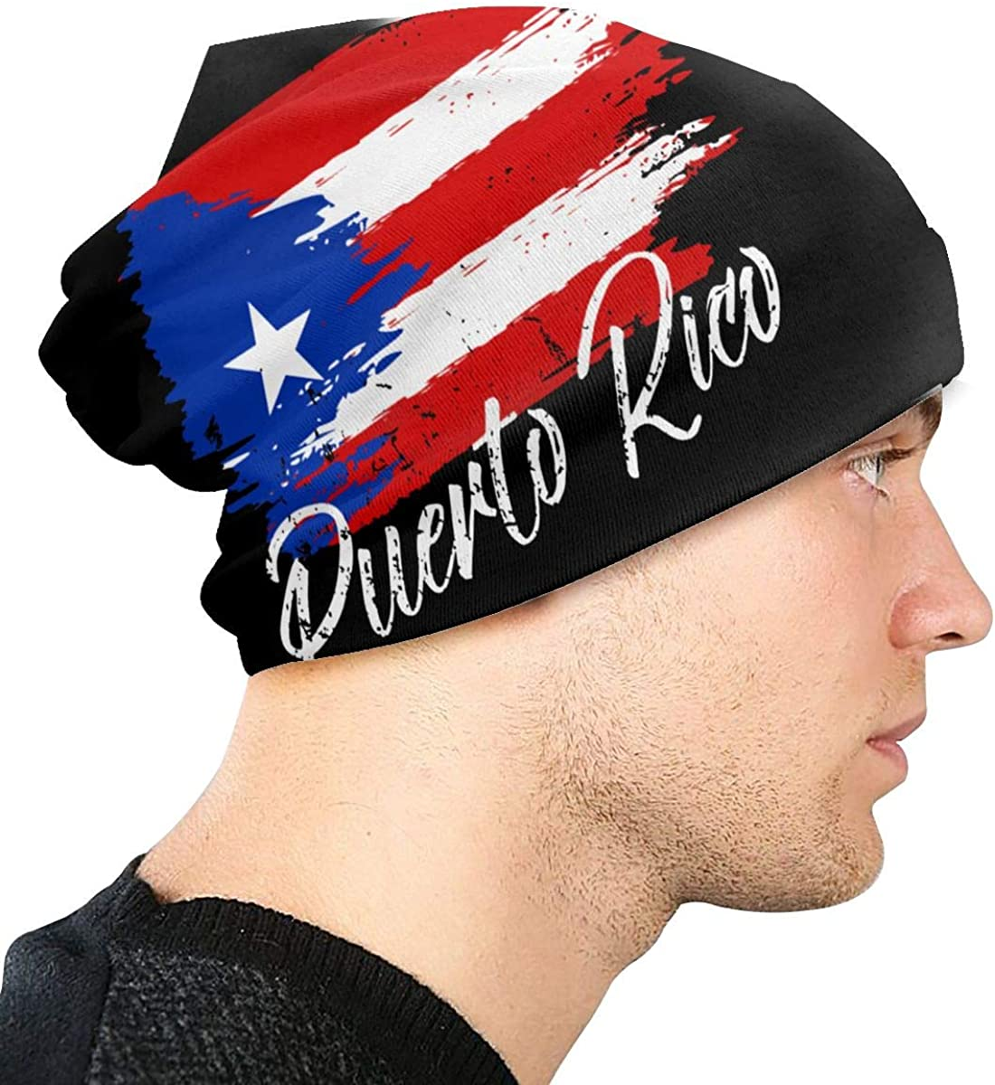 Puerto Rico Flag Unisex 3D In a popularity Printing Skull 2021 Hop Be Cap Fashion Hip