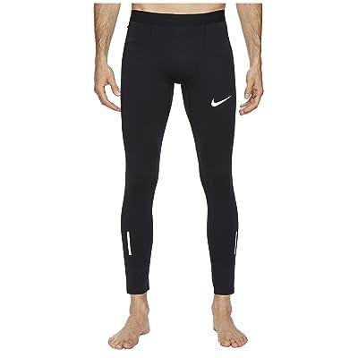 Nike Tech Running Tight (Black/Pure Platinum) Men