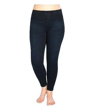 Spanx Plus Size Jean-ish Ankle Leggings (Twilight Rinse) Women