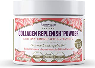 Reserveage, Collagen Replenish Powder, Skin and Nail Supplement, Supports Collagen and Elastin Production, Paleo, Keto, 2....