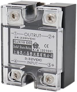 Baomain SSR-10DD 10A Signal Phase Solid State Relay DC 3-32V DC 24-220V DC to DC