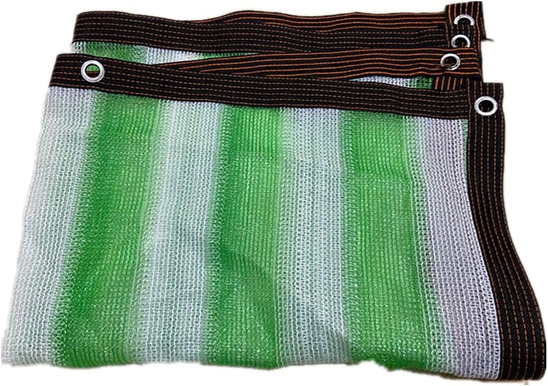 WZHIJUN favorite Green White Stripe Sunblock Anti-UV Challenge the lowest price of Japan Outd Shade Cloth 85%