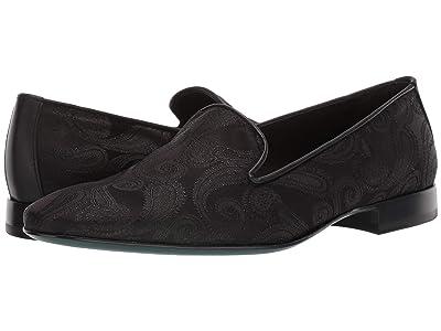Etro Paisley Evening Loafer (Black) Men