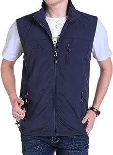 Gihuo Men's Golf Lightweight Photo Vest Fishing Travel Safari Vest