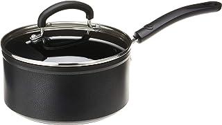 T-fal C5612464 Titanium Advanced Nonstick Cookware Saucepan, 3-Quart, Black -