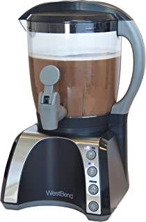 West Bend CL401V Venti Hot Automatic Electric Beverage Maker Mixes Heats and Froths Perfectly Every Time, 72-ounce, Black