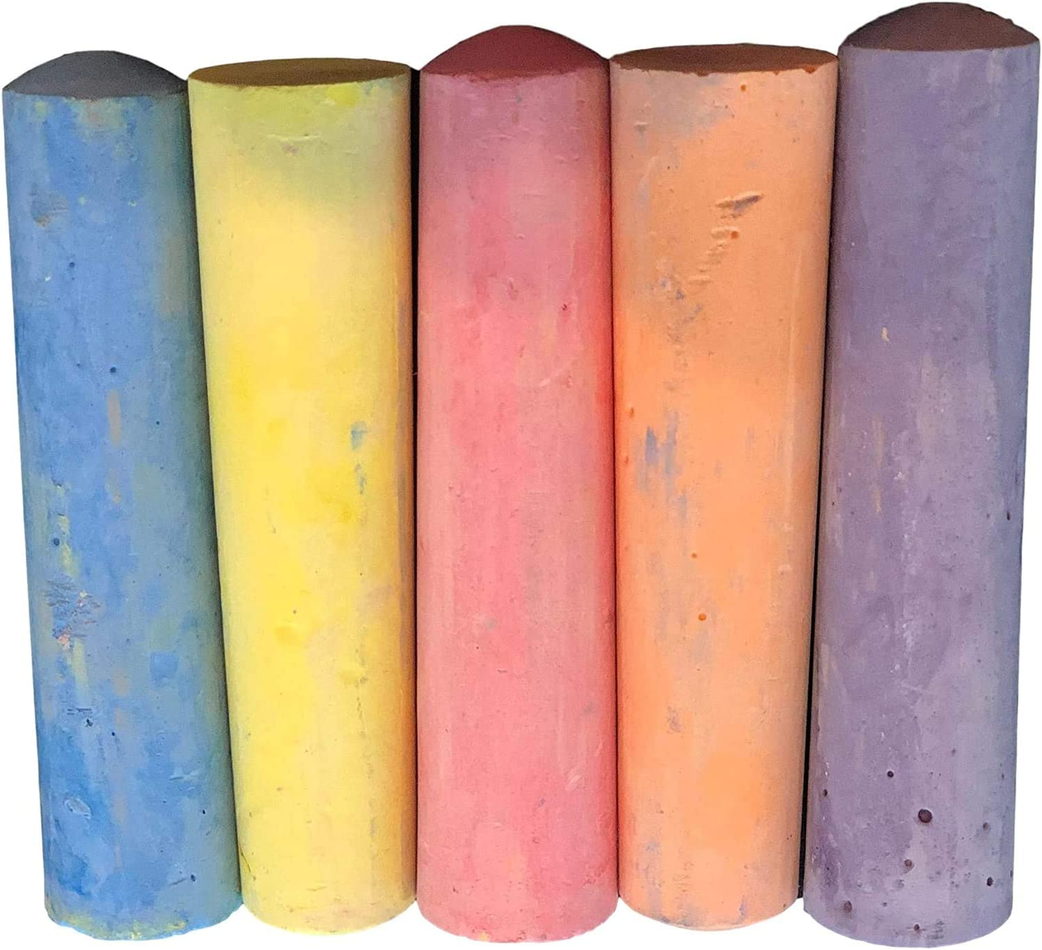 Pack Of 5 Jumbo Sidewalk Chalk For Outdoor Side Wa Complete Free Shipping low-pricing Kids Toddlers