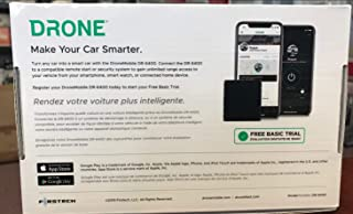 Drone Mobile DR6400 Smart Phone Vehicle Control & GPS Smart Phone Vehicle Control & GPS, At&T LTE, Quick Response