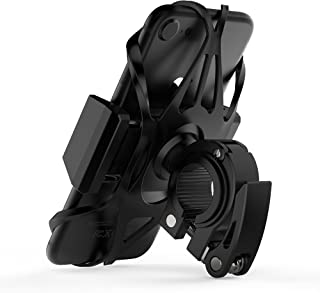 Widras Phone Bike Mount and Motorcycle Cell Phone Holder 2nd Generation for iPhone X 8 7 7s 6 6s 5 5s Plus Samsung Galaxy S9 S8 S7 Note or Any Smartphone GPS Mountain Road Bicycle Handlebar Cradle