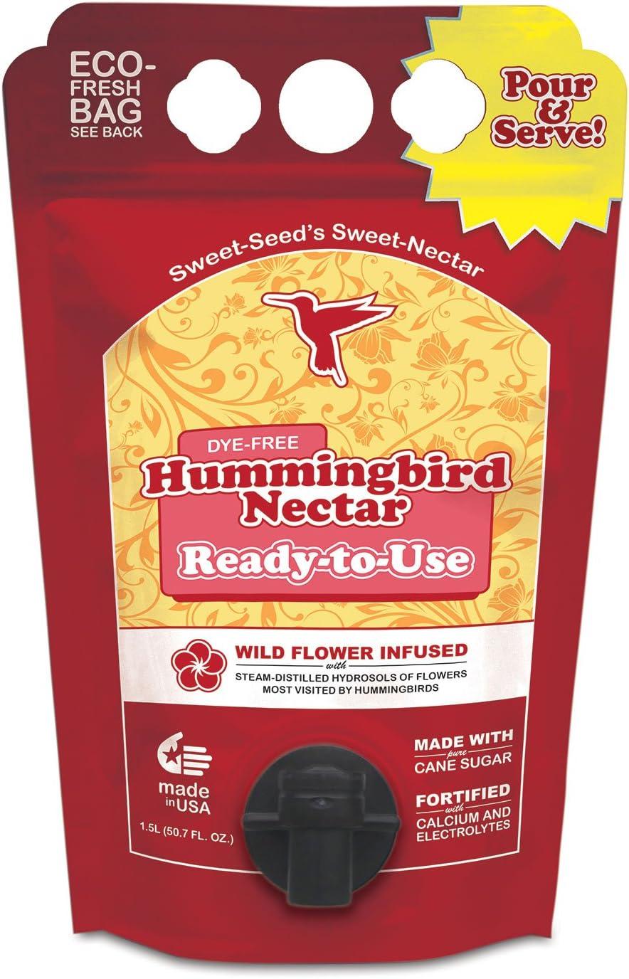 lowest price Sweet-Seed LLC BHRTUM 1.5L RTU Hummingbird Bag Red New product!! Nectar