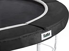 Salta trampoline 591P hoogwaardige beschermende rand roze 183 cm 305cm zwart