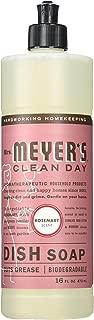 Mrs. Meyer's Liquid Dish Soap Rosemary, 16 FL OZ