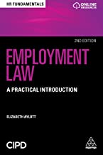 Employment Law: A Practical Introduction (HR Fundamentals Book 17) (English Edition)