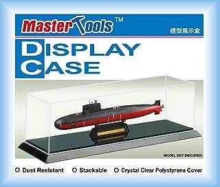 Master Tools (Trumpeter) 09802 Plastic Transparent Model Display Case - 257 x 66 x 82mm