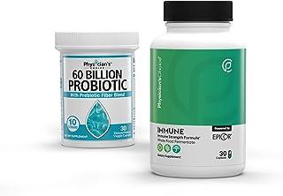 Probiotics 60 Billion CFU - Dr. Approved Probiotics + Immune Support - Immune Booster Featuring EpiCor