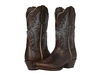 Ariat Showcase VentTek (Dark Whiskey) Cowboy Boots