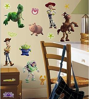 RoomMates Décor géant Toy Story brille dans le noir