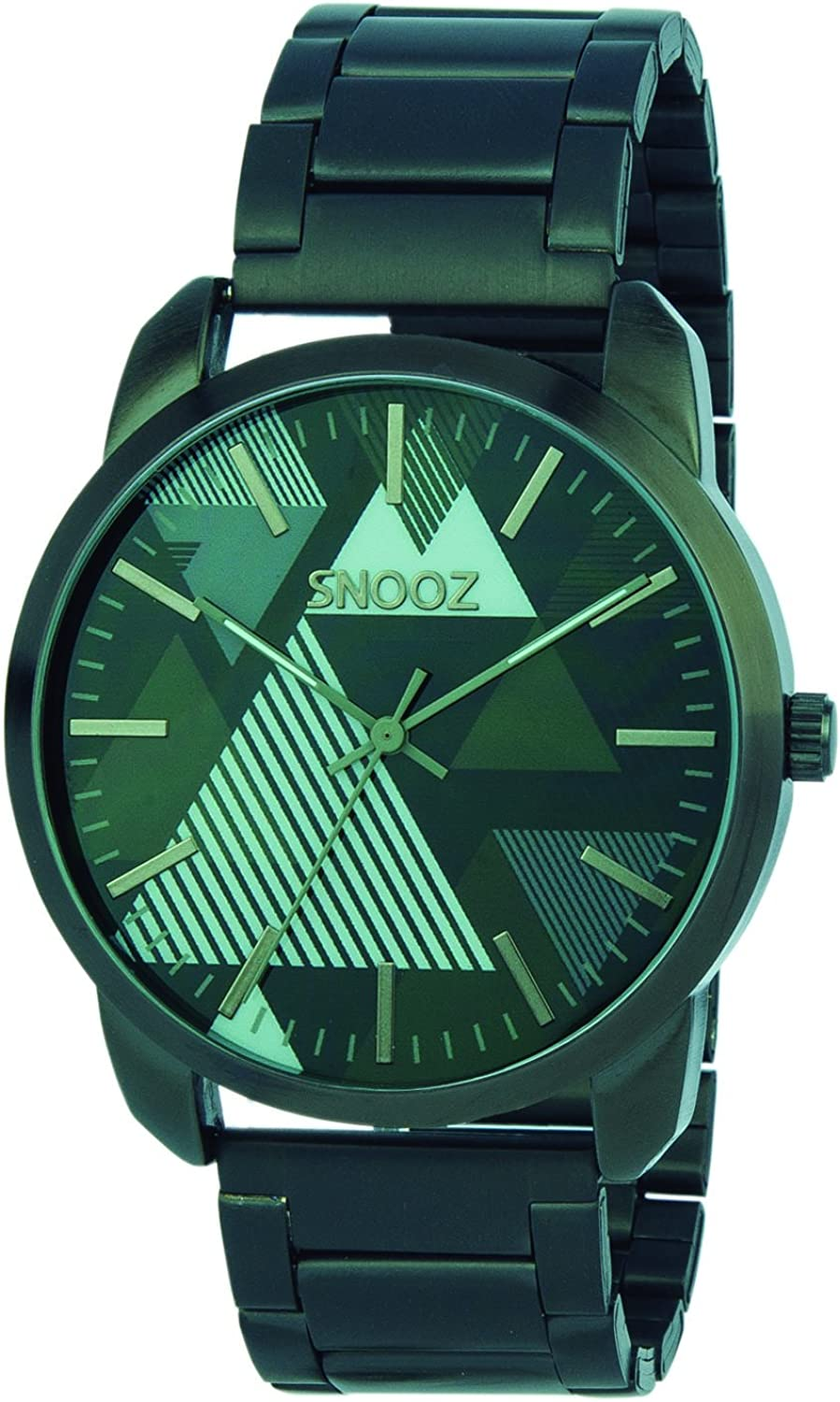 Snooz Men's Analogue Quartz Watch with Stainless Steel Strap Saa104368
