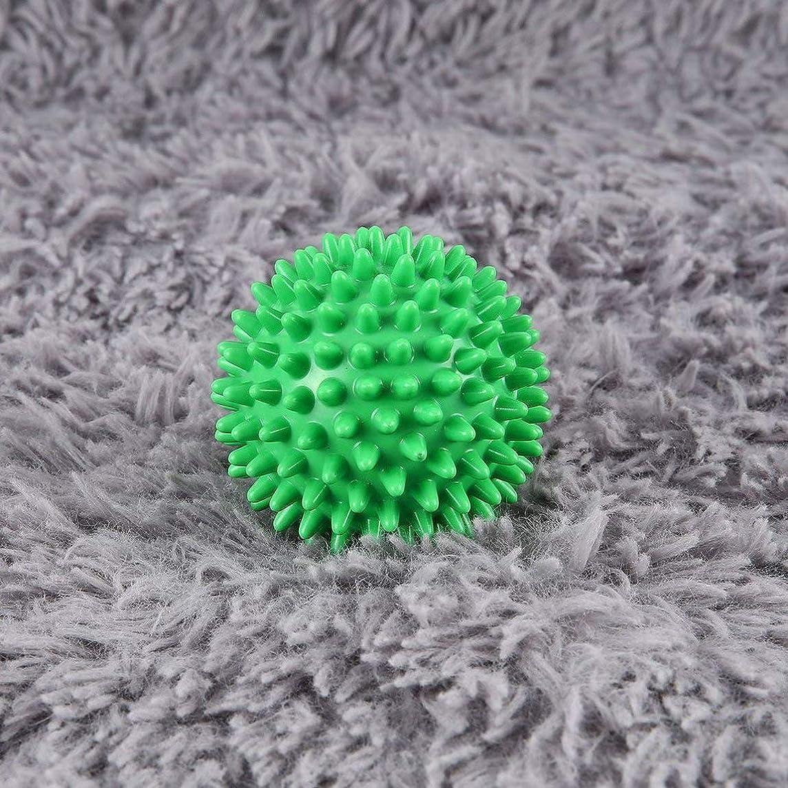 不道徳折り目時系列PVC High Density Spiky Massage Ball Foot Pain & Plantar Fasciitis Reliever Treatment Hedgehog Ball Massage Acupressure Ball