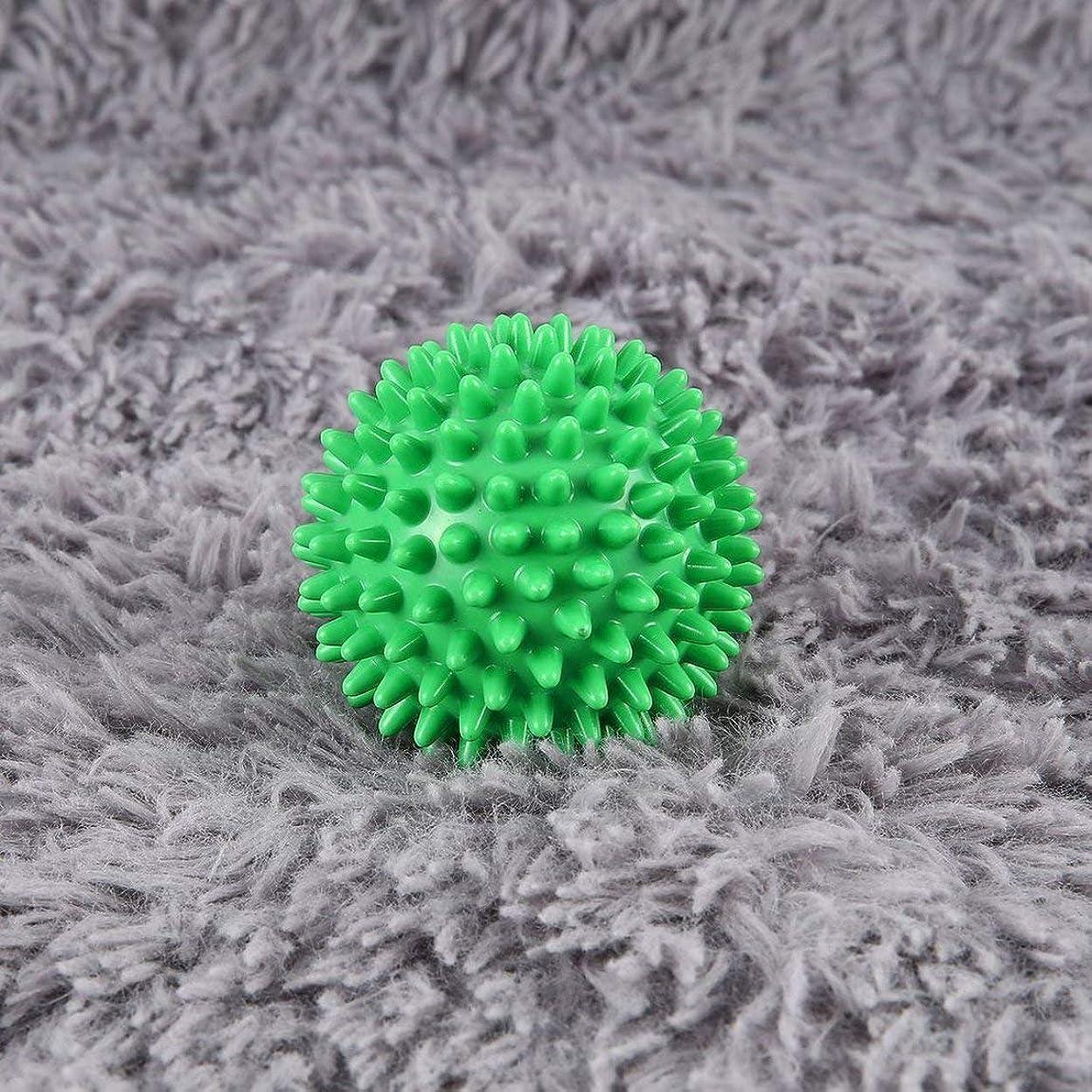 決定するフェッチ顎PVC High Density Spiky Massage Ball Foot Pain & Plantar Fasciitis Reliever Treatment Hedgehog Ball Massage Acupressure Ball
