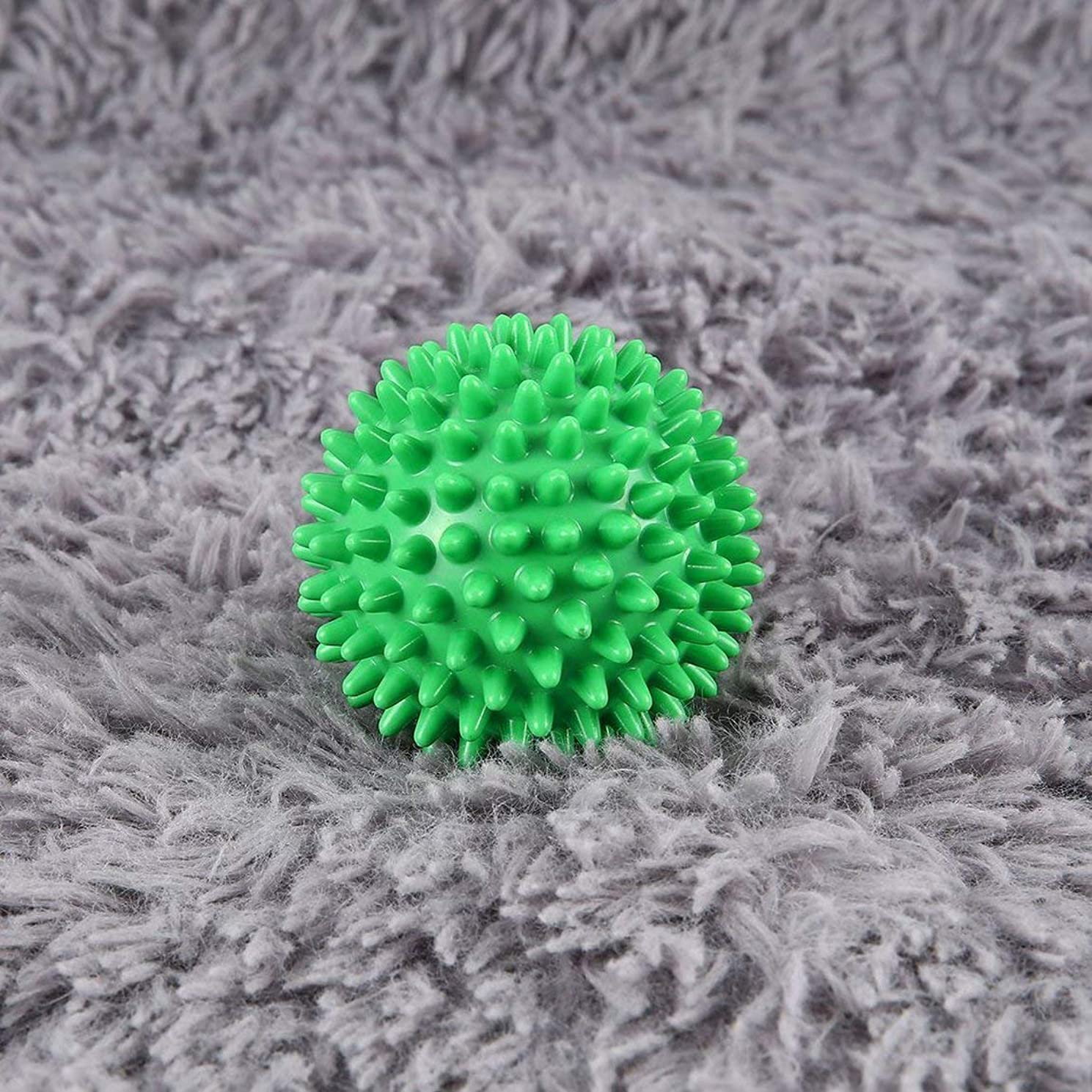 宿題評決デコードするPVC High Density Spiky Massage Ball Foot Pain & Plantar Fasciitis Reliever Treatment Hedgehog Ball Massage Acupressure Ball