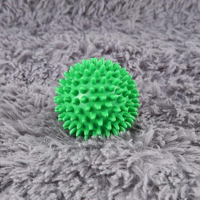 目立つ不純起こるPVC High Density Spiky Massage Ball Foot Pain & Plantar Fasciitis Reliever Treatment Hedgehog Ball Massage Acupressure Ball