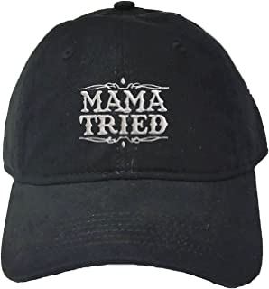 Adult Mama Tried Embroidered Deluxe Dad Hat