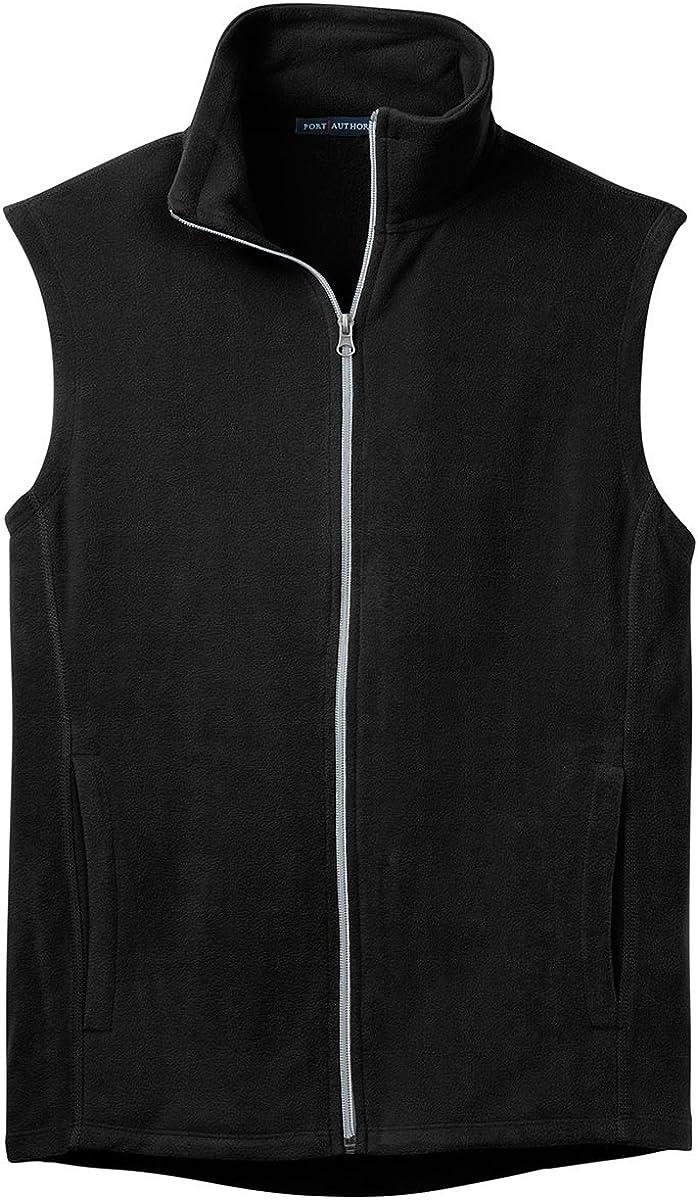 Port Authority Microfleece Vest, S, Black
